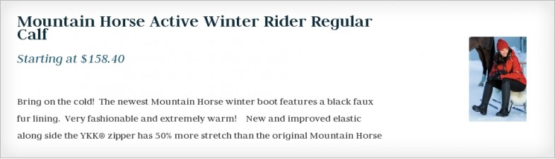 Mountain Horse Active Winter Rider Regular Calf