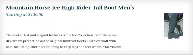Mountain Horse Ice High Rider Tall Boot Men's
